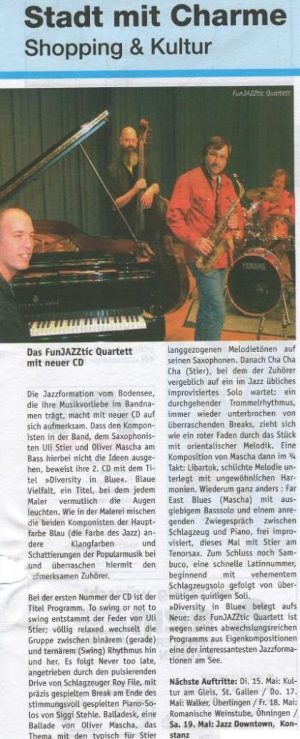 Auftritte rund um den Bodensee