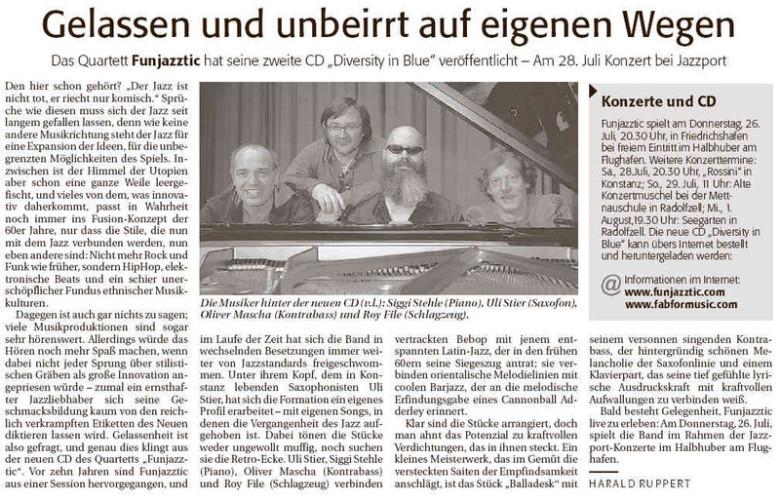 FunJAZZtic beim Jazzport Friedrichshafen